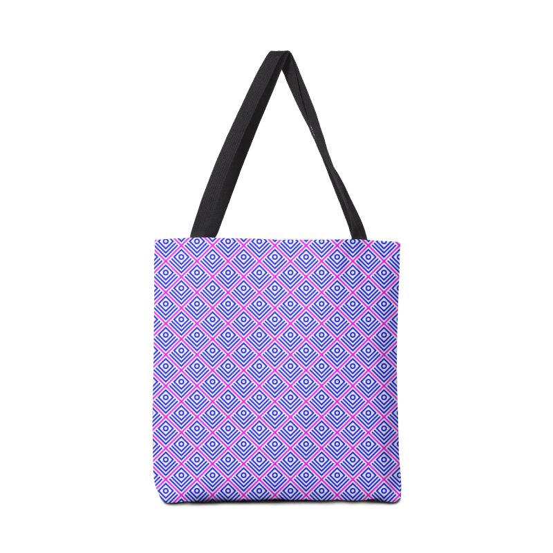 FLD Box Pattern - Abstract Accessories Tote Bag Bag by falconlara.design shop
