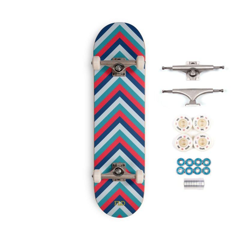 Four Brights Skateboard Accessories Complete - Premium Skateboard by falconlara.design shop