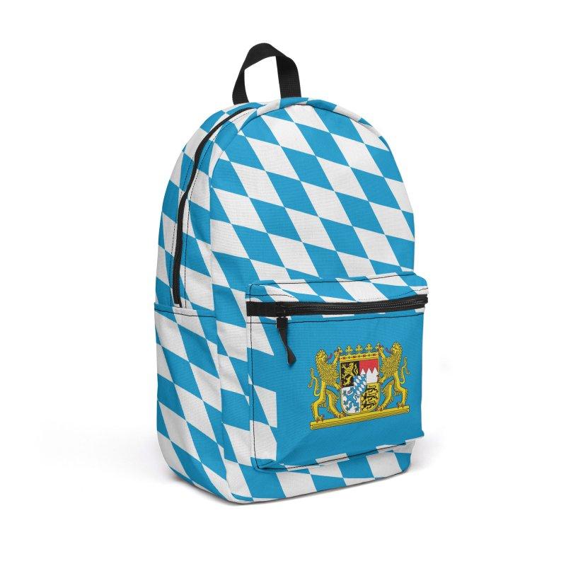 Bayern Accessories Backpack Bag by falconlara.design shop