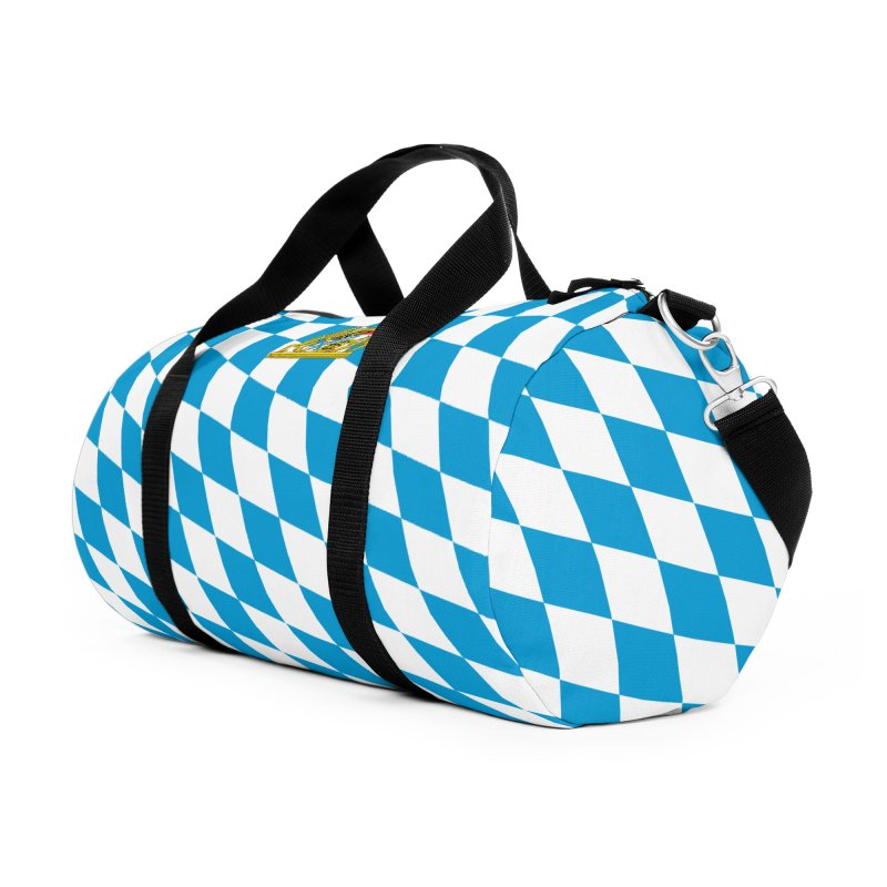 Bayern Accessories Duffel Bag Bag by falconlara.design shop