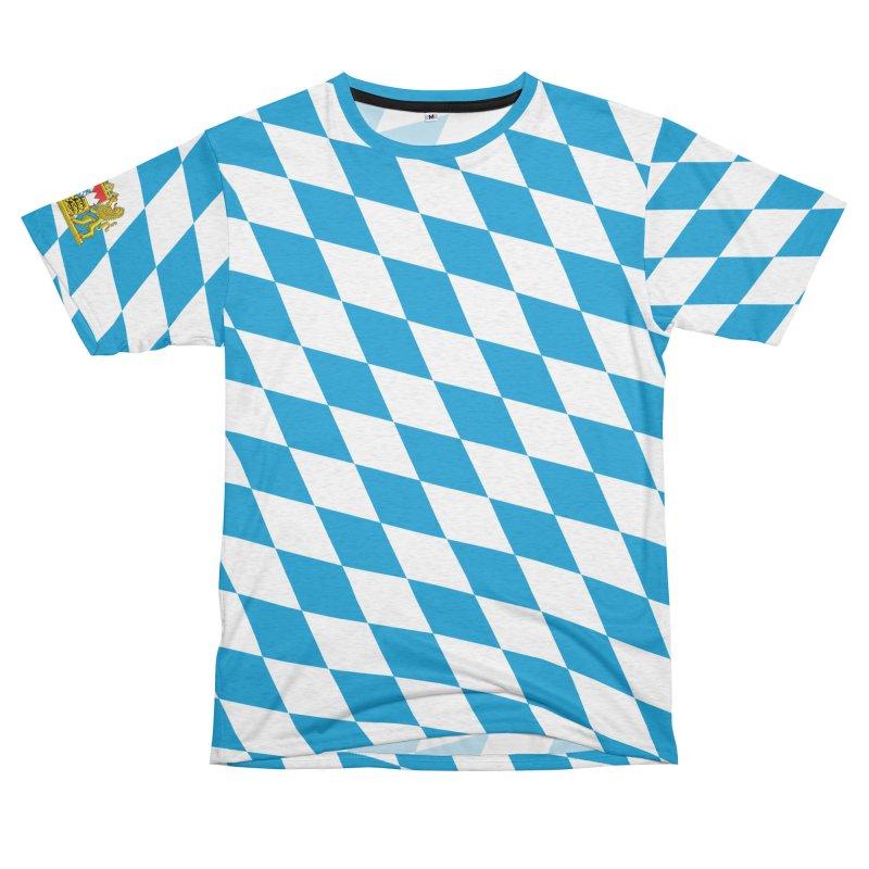 Bayern Men's French Terry T-Shirt Cut & Sew by falconlara.design shop