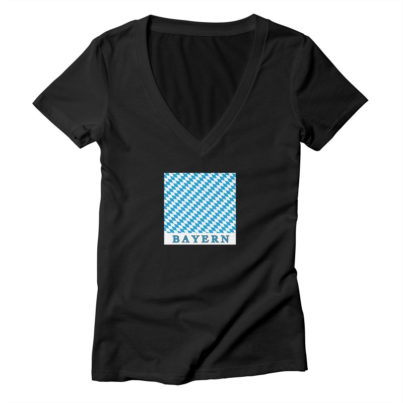 Bayern Women's V-Neck by falconlara.design shop