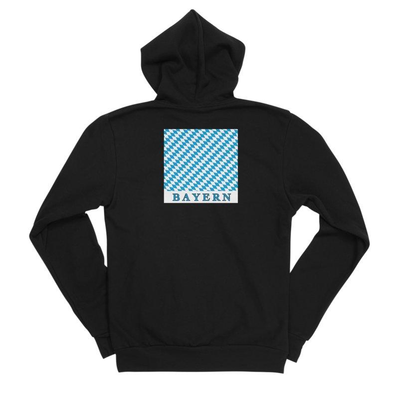 Bayern Men's Sponge Fleece Zip-Up Hoody by falconlara.design shop