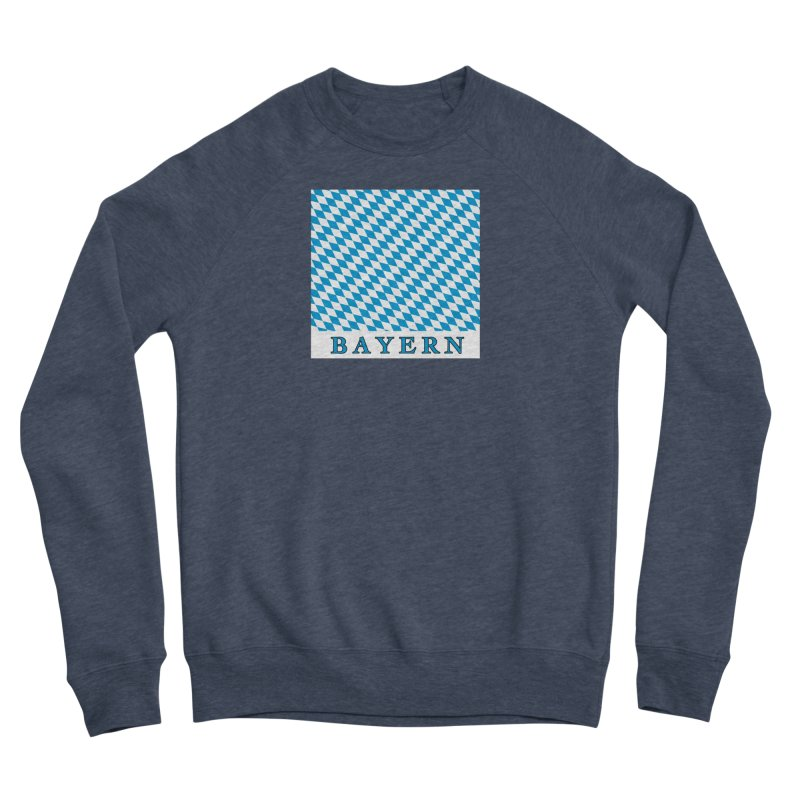 Bayern Women's Sponge Fleece Sweatshirt by falconlara.design shop