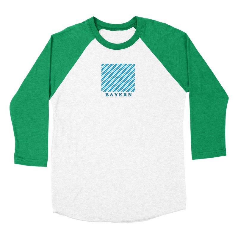 Bayern Women's Baseball Triblend Longsleeve T-Shirt by falconlara.design shop