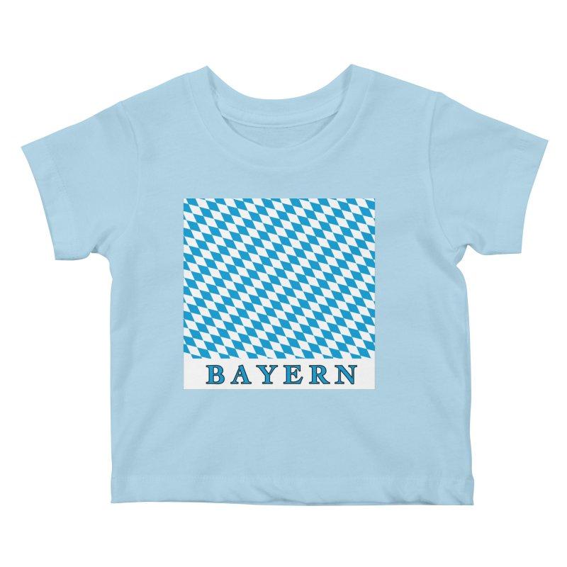 Bayern Kids Baby T-Shirt by falconlara.design shop