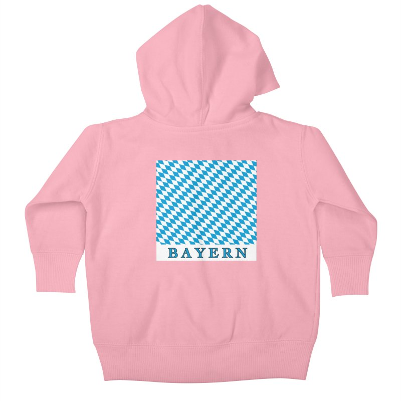 Bayern Kids Baby Zip-Up Hoody by falconlara.design shop