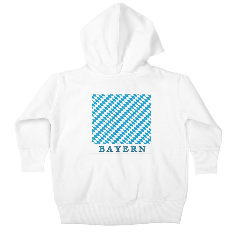 Bayern Kids Baby Zip-Up Hoody by falconlara.design shop