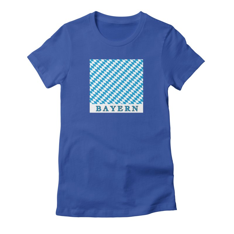 Bayern Women's Fitted T-Shirt by falconlara.design shop