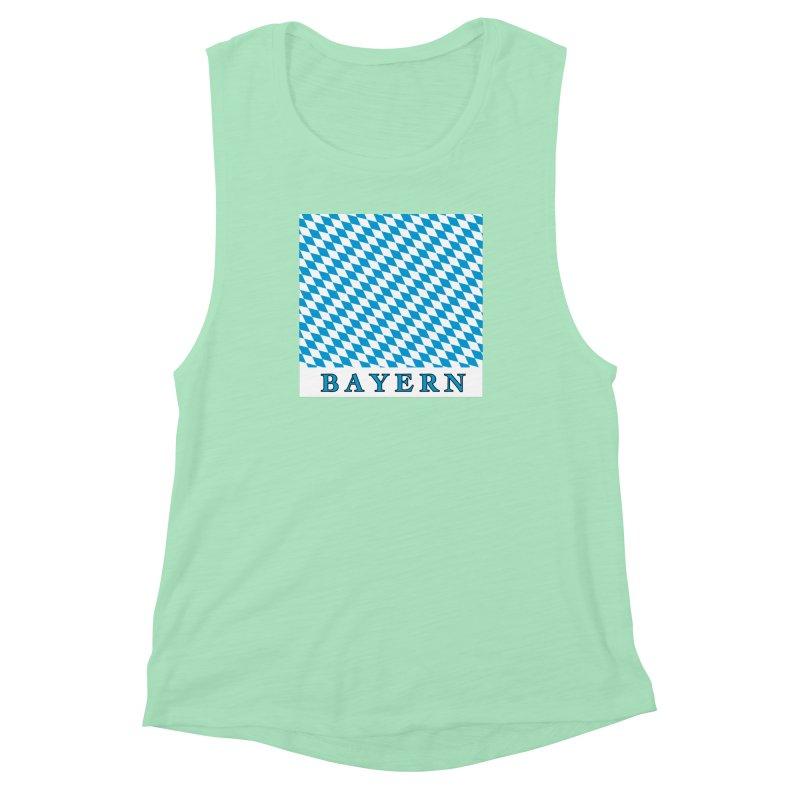 Bayern Women's Muscle Tank by falconlara.design shop