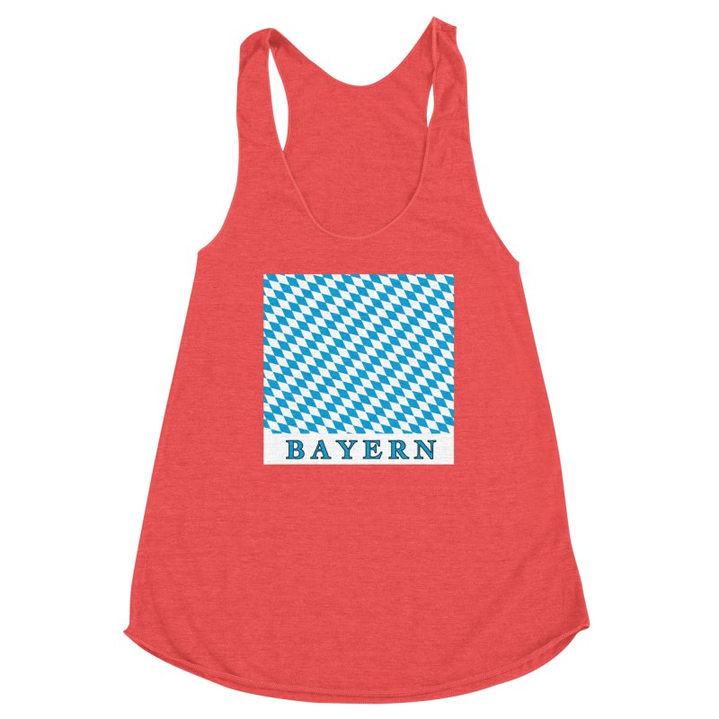 Bayern Women's Racerback Triblend Tank by falconlara.design shop