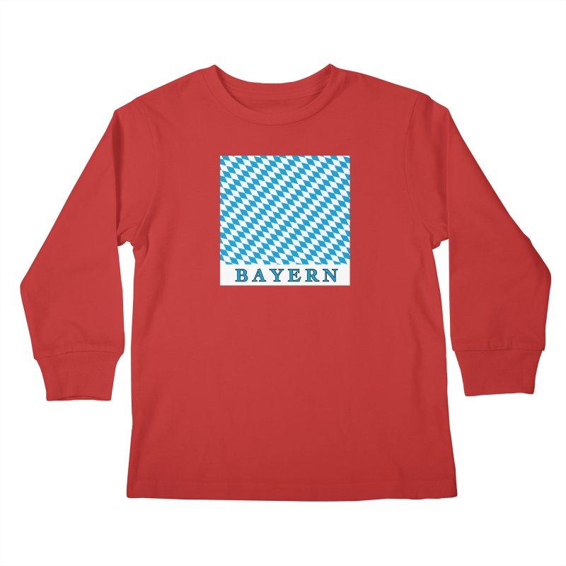 Bayern Kids Longsleeve T-Shirt by falconlara.design shop