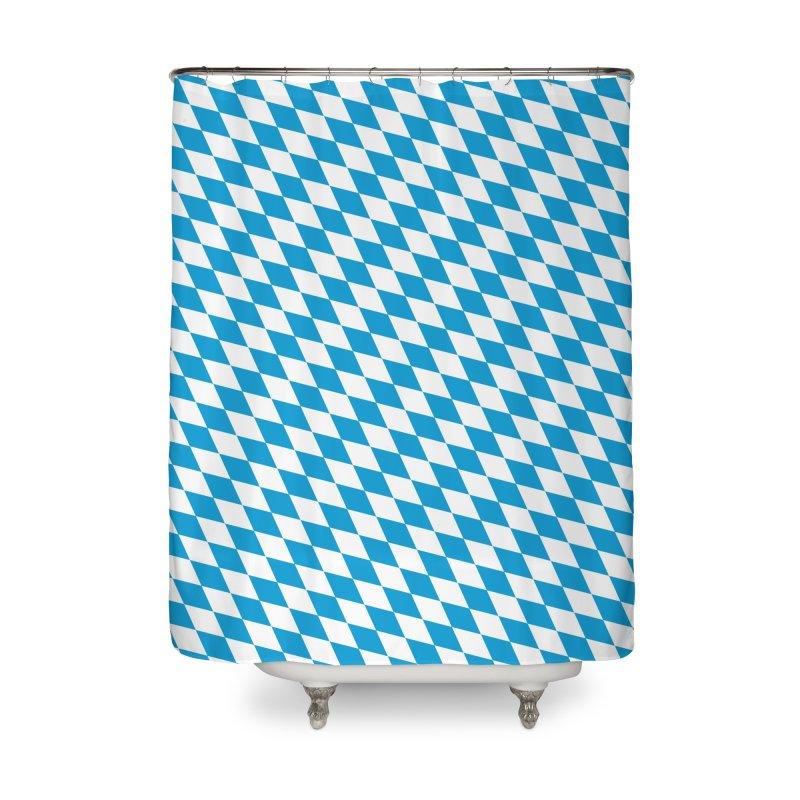 Bayern Home Shower Curtain by falconlara.design shop