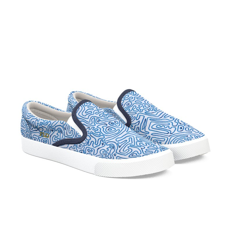 Groovy Shoes Women's Slip-On Shoes by falconlara.design shop