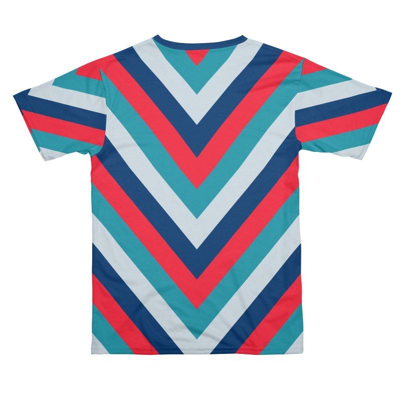 "Four Brights ""V"" Pattern Men's Cut & Sew by falconlara.design shop"