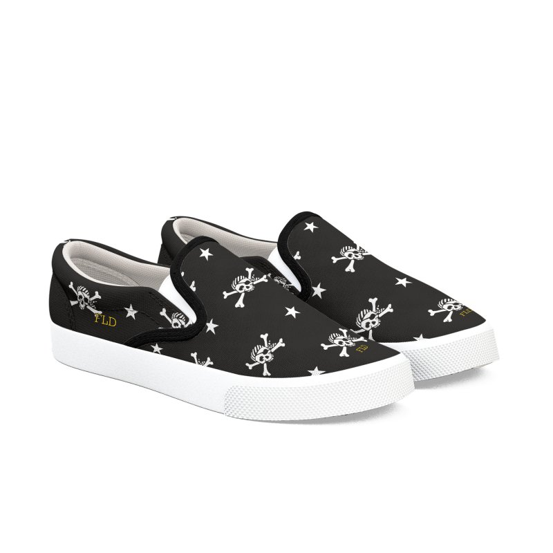 Jolly Rogers! Shoes Women's Slip-On Shoes by falconlara.design shop