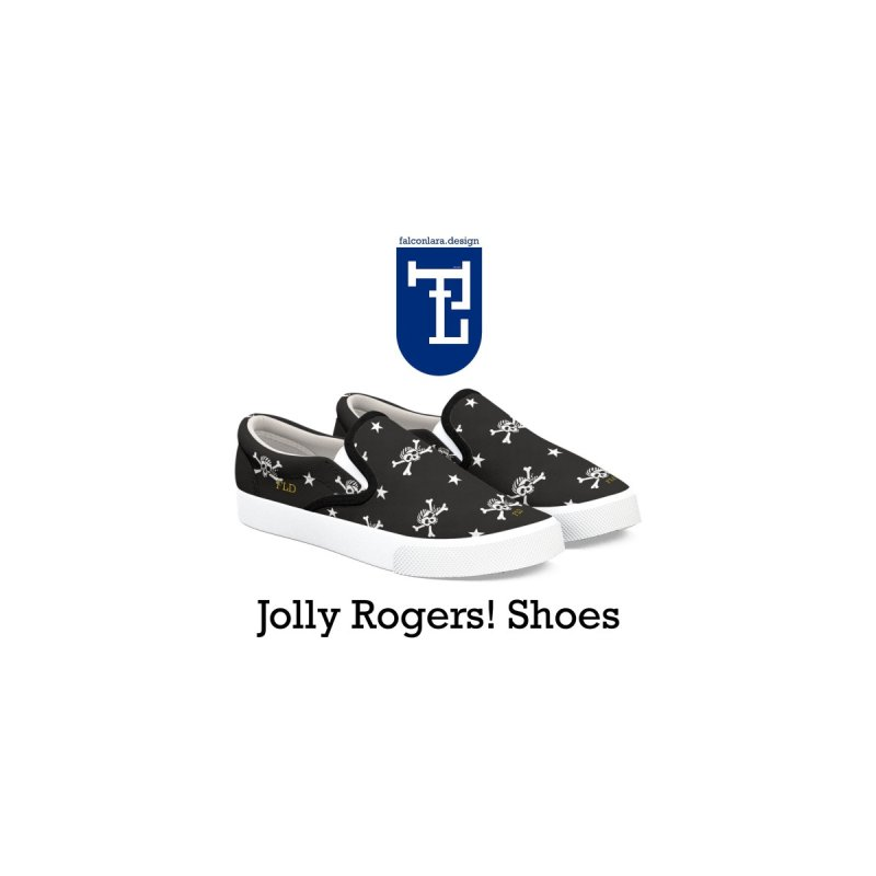 Jolly Rogers! Shoes by falconlara.design shop
