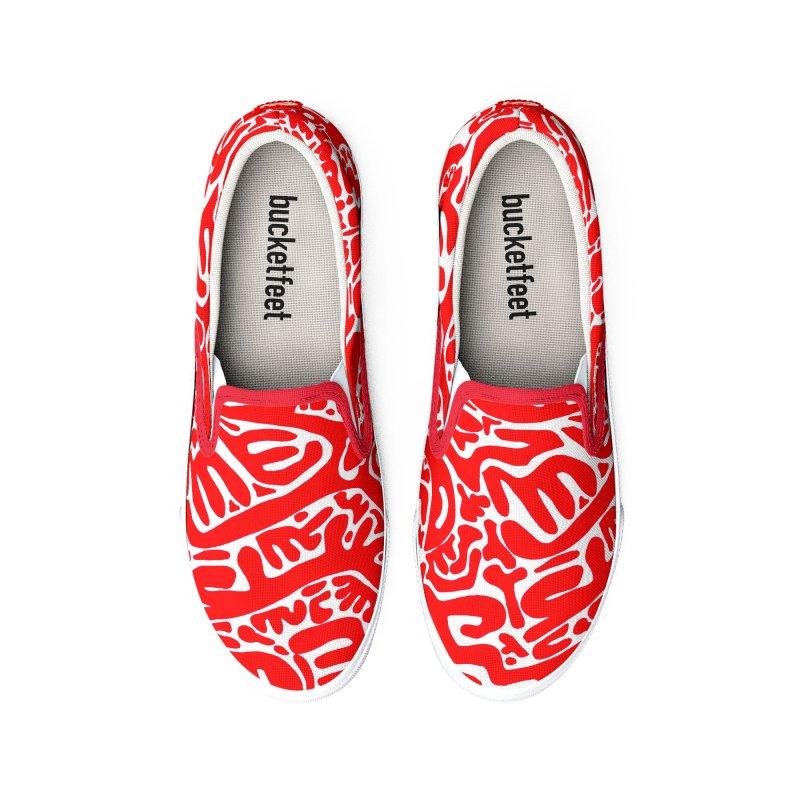 Who Is Me Shoes Men's Shoes by falconlara.design shop