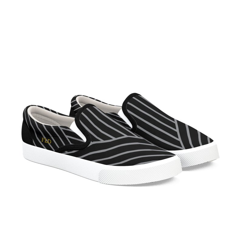 Slant And Down Shoes Women's Slip-On Shoes by falconlara.design shop