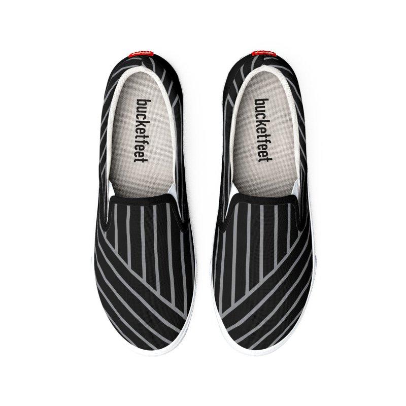 Slant And Down Shoes Men's Shoes by falconlara.design shop