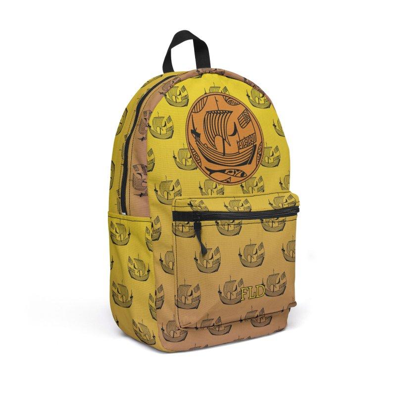 Viking Boat Accessories Backpack Bag by falconlara.design shop