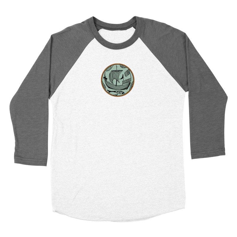 Viking Boat Women's Longsleeve T-Shirt by falconlara.design shop