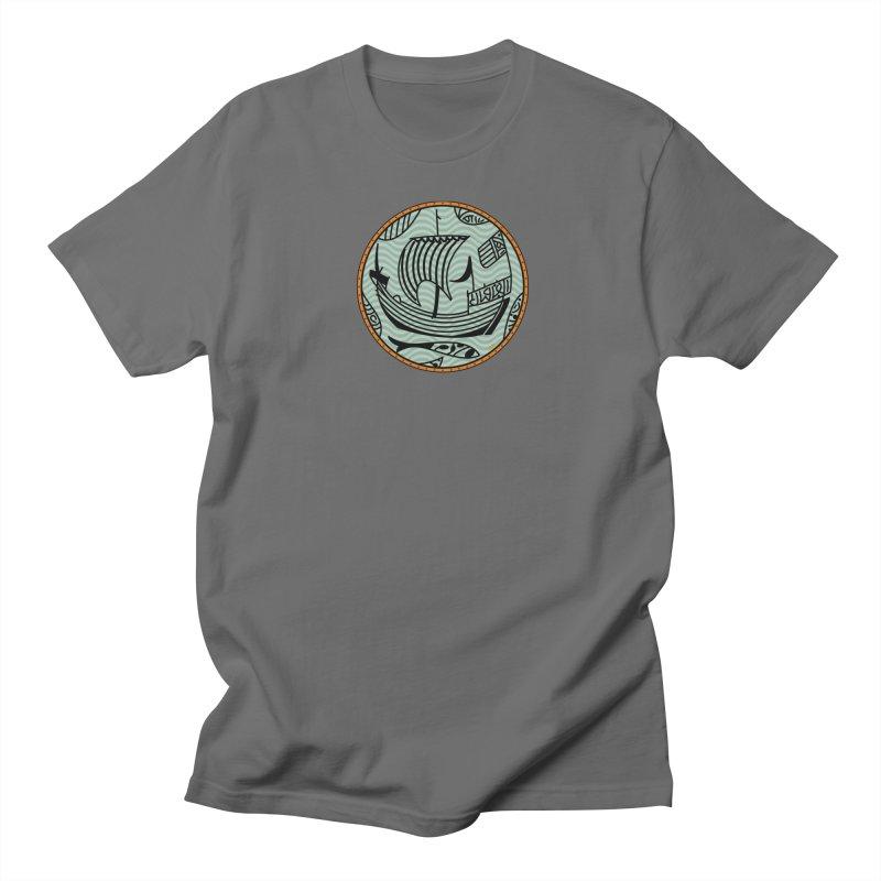 Viking Boat Men's T-Shirt by falconlara.design shop