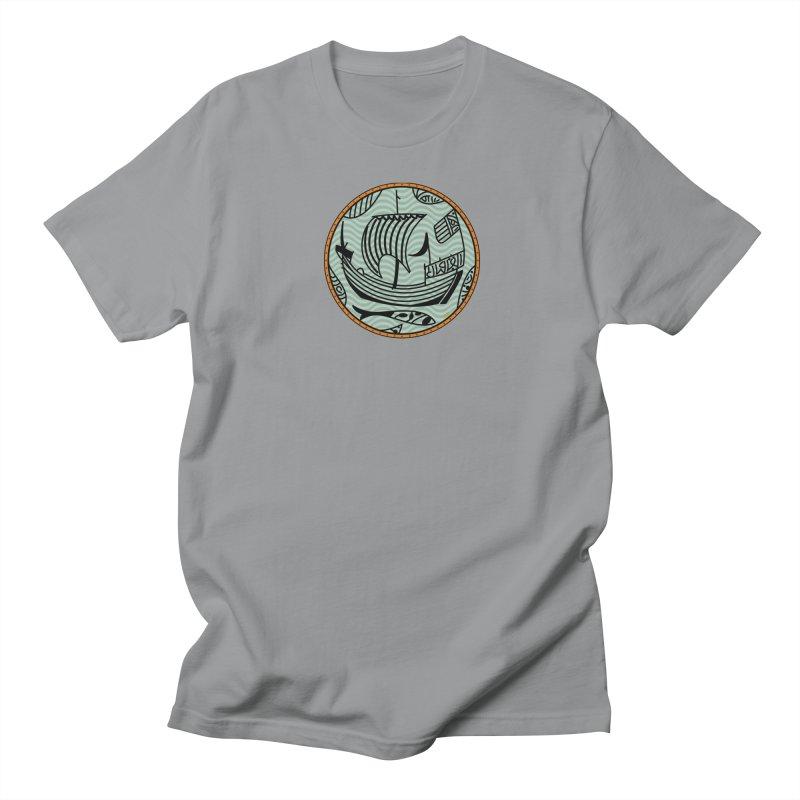 Viking Boat Men's Regular T-Shirt by falconlara.design shop