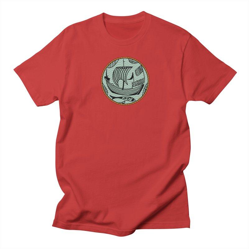 Viking Boat Women's Regular Unisex T-Shirt by falconlara.design shop