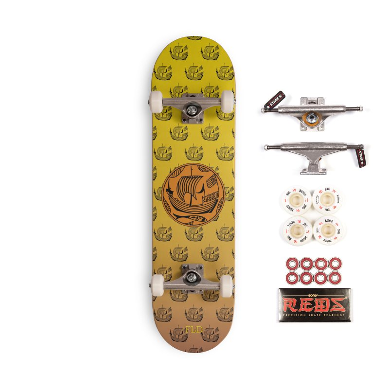 Viking Boat Accessories Complete - Pro Skateboard by falconlara.design shop