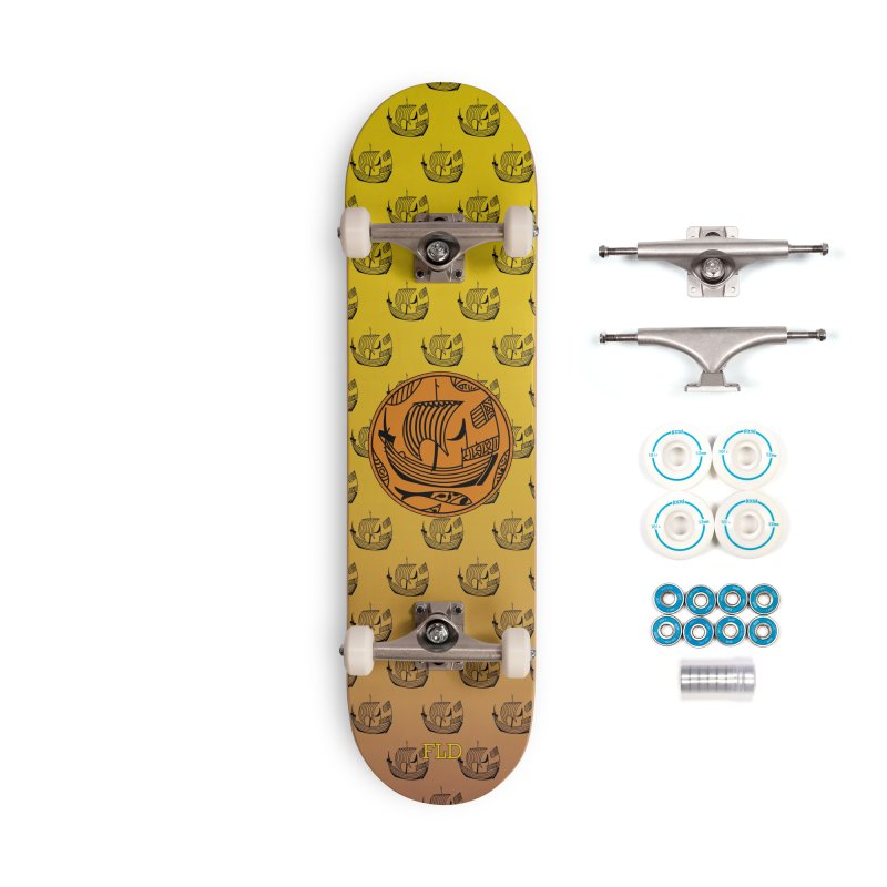 Viking Boat Accessories Complete - Basic Skateboard by falconlara.design shop