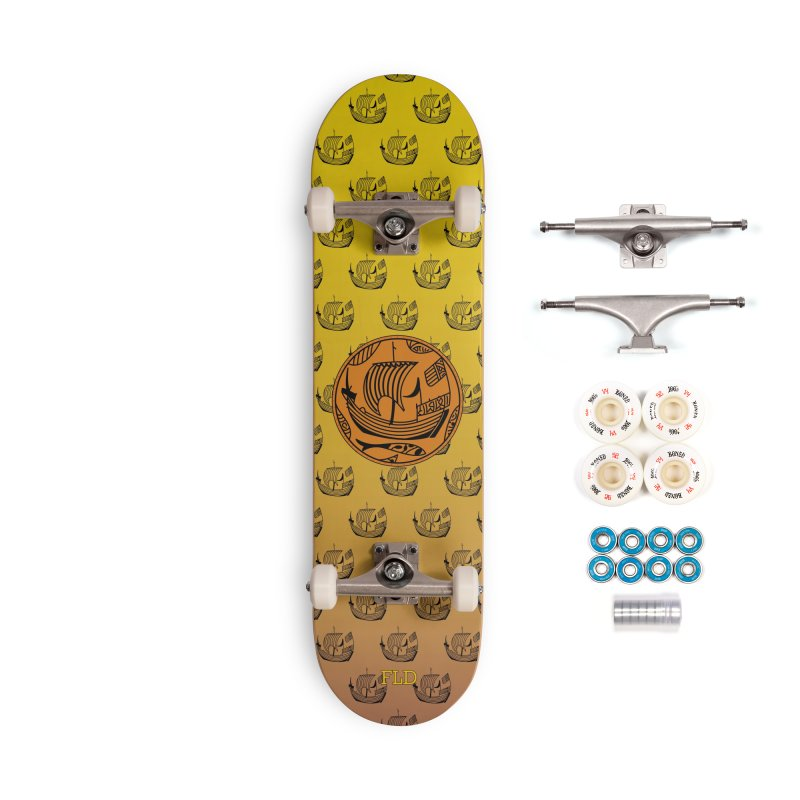 Viking Boat Accessories Complete - Premium Skateboard by falconlara.design shop