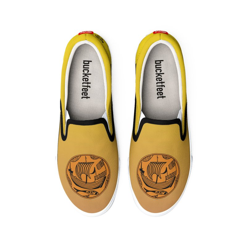 Viking Boat Women's Shoes by falconlara.design shop