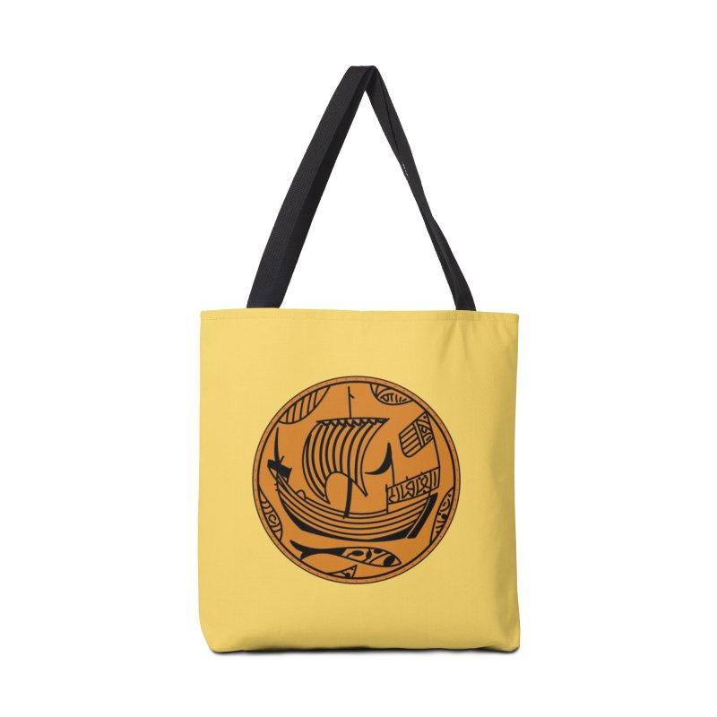 Viking Boat Accessories Tote Bag Bag by falconlara.design shop