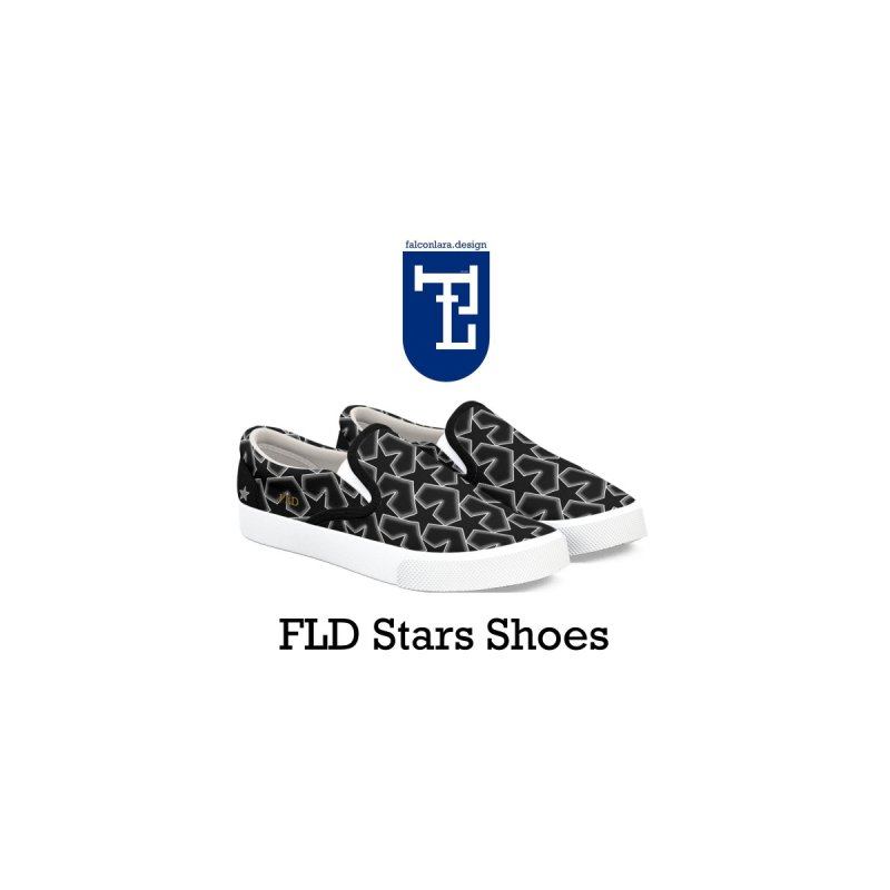 FLD Stars Shoes by falconlara.design shop