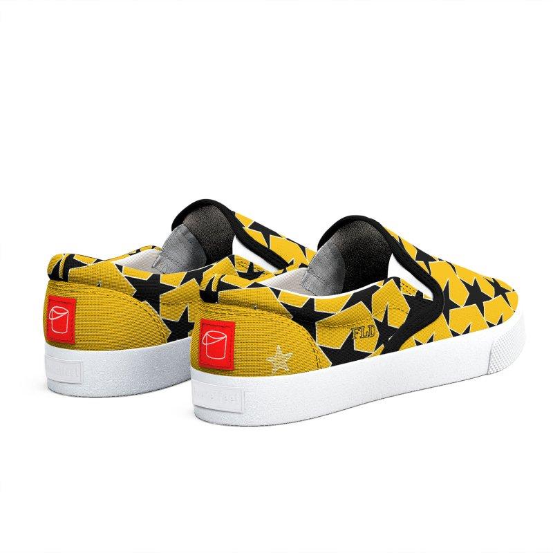 FLD Stars Shoes-Yellow Men's Shoes by falconlara.design shop