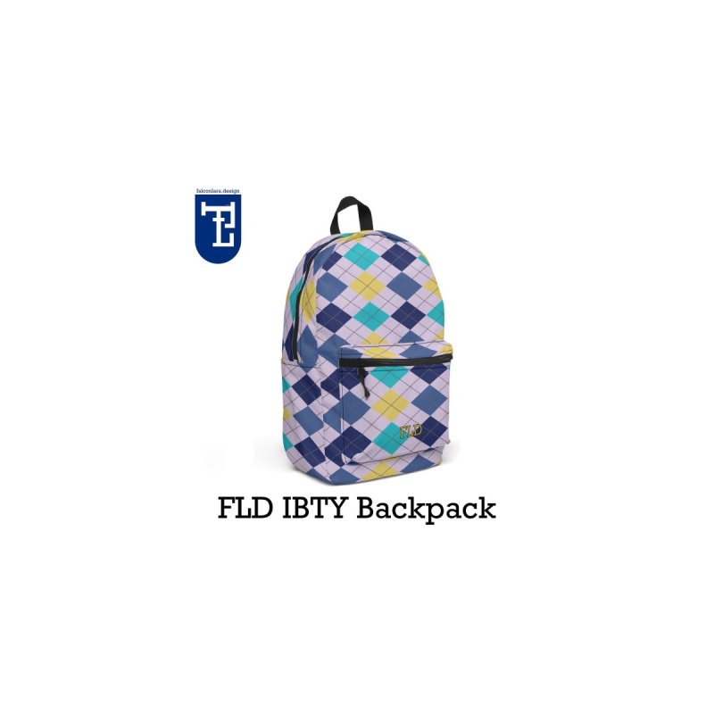 FLD IBTY Backpack by falconlara.design shop