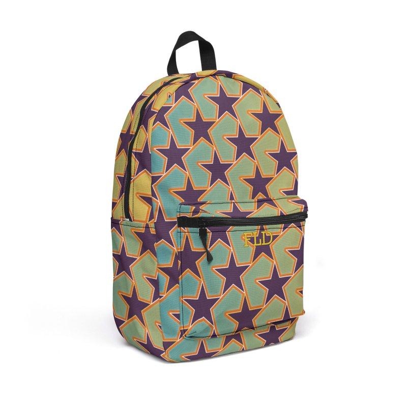 Bright Stars Accessories Backpack Bag by falconlara.design shop