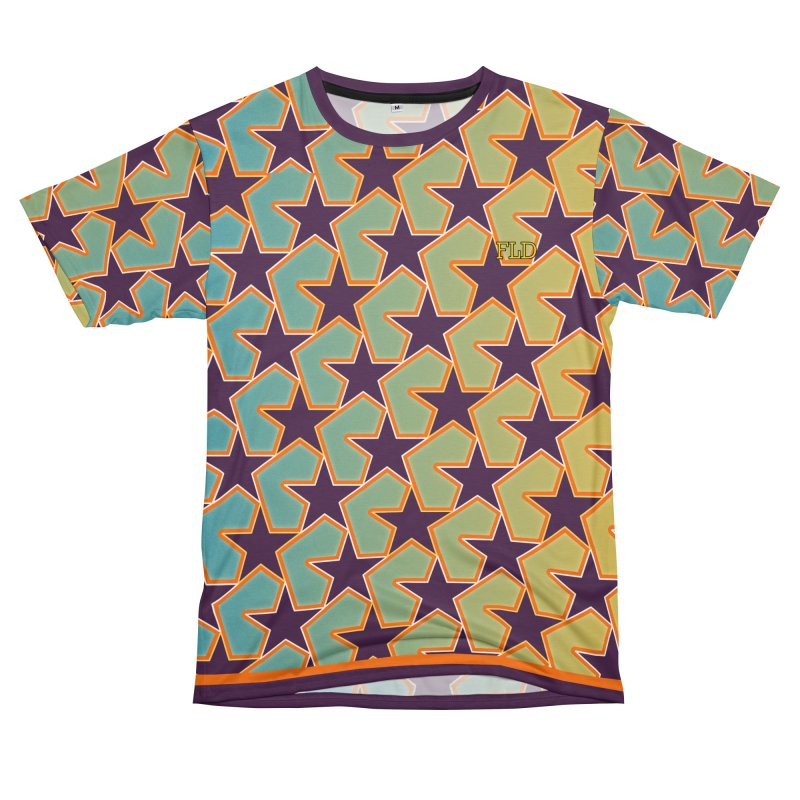 Bright Stars Women's Unisex T-Shirt Cut & Sew by falconlara.design shop