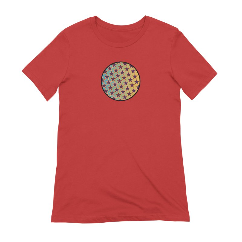 Bright Stars Women's Extra Soft T-Shirt by falconlara.design shop