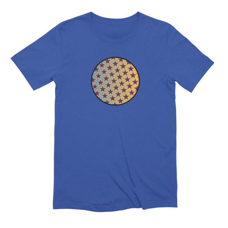 Bright Stars Men's Extra Soft T-Shirt by falconlara.design shop