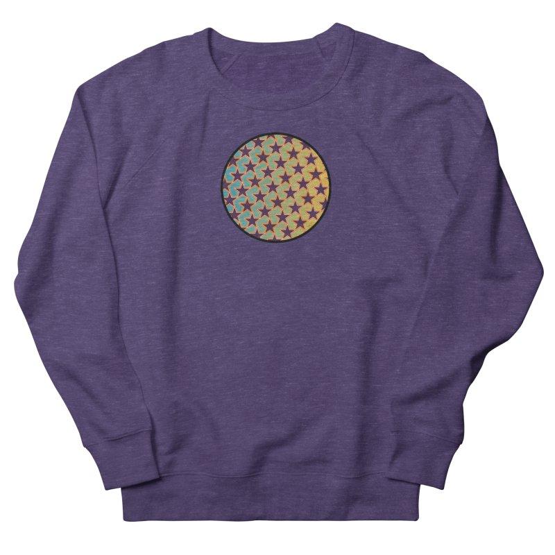 Bright Stars Men's French Terry Sweatshirt by falconlara.design shop