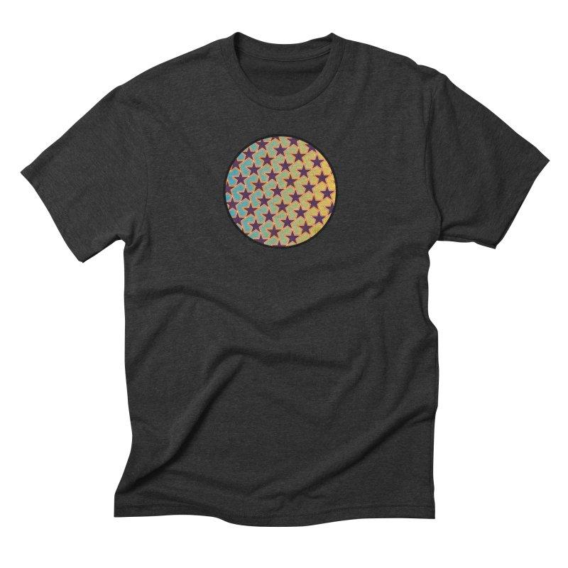 Bright Stars Men's Triblend T-Shirt by falconlara.design shop