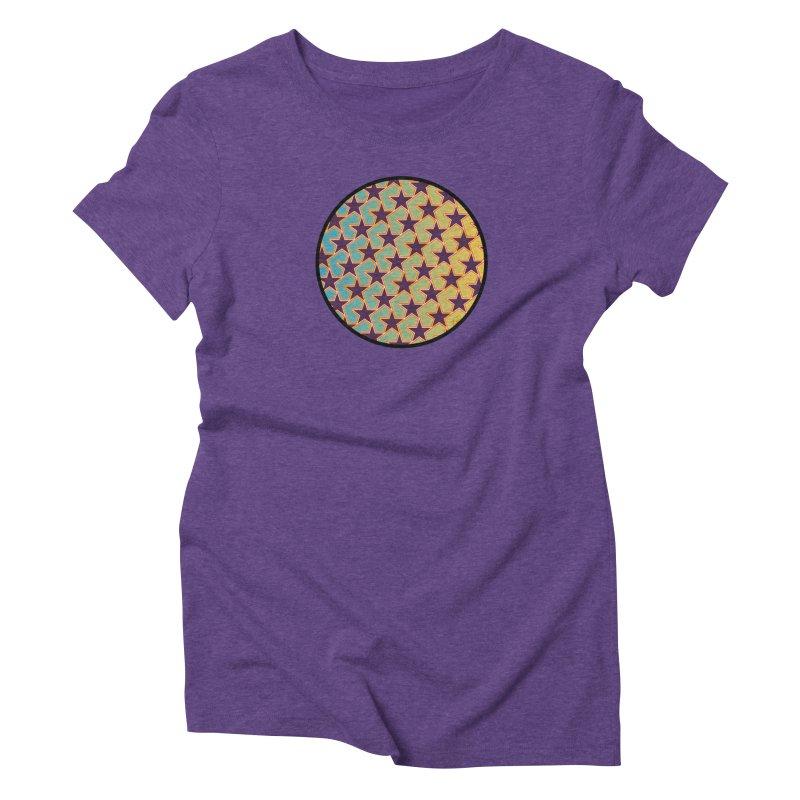 Bright Stars Women's Triblend T-Shirt by falconlara.design shop