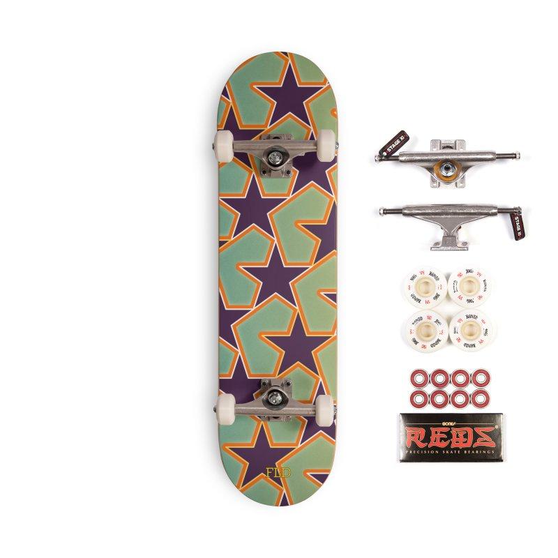 Bright Stars Accessories Complete - Pro Skateboard by falconlara.design shop