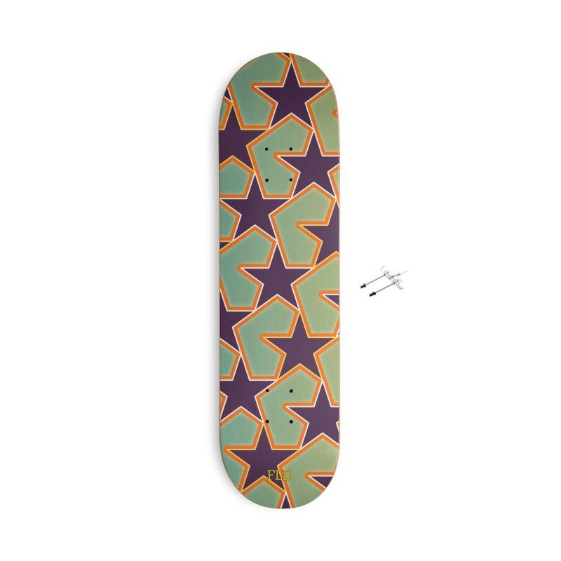 Bright Stars Accessories With Hanging Hardware Skateboard by falconlara.design shop