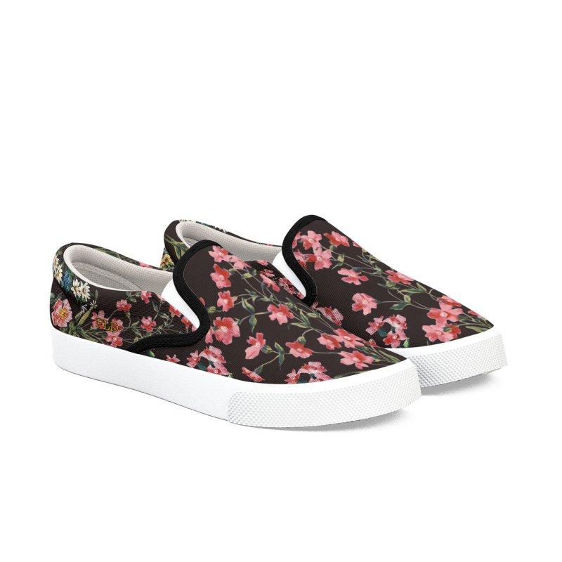 FLD Bouquet Shoes Men's Slip-On Shoes by falconlara.design shop