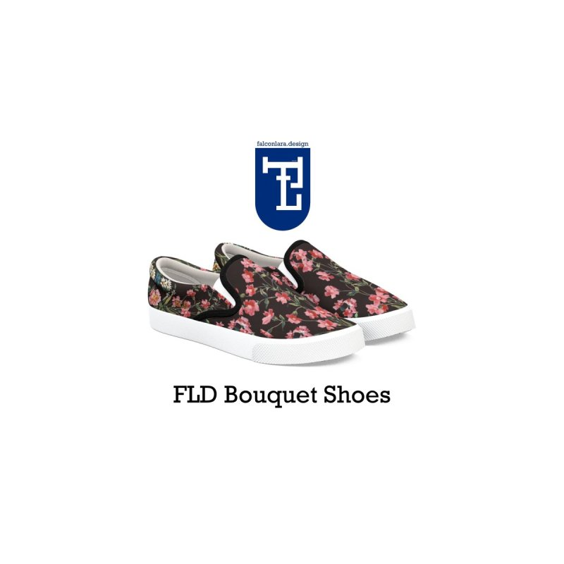 FLD Bouquet Shoes Men's Shoes by falconlara.design shop