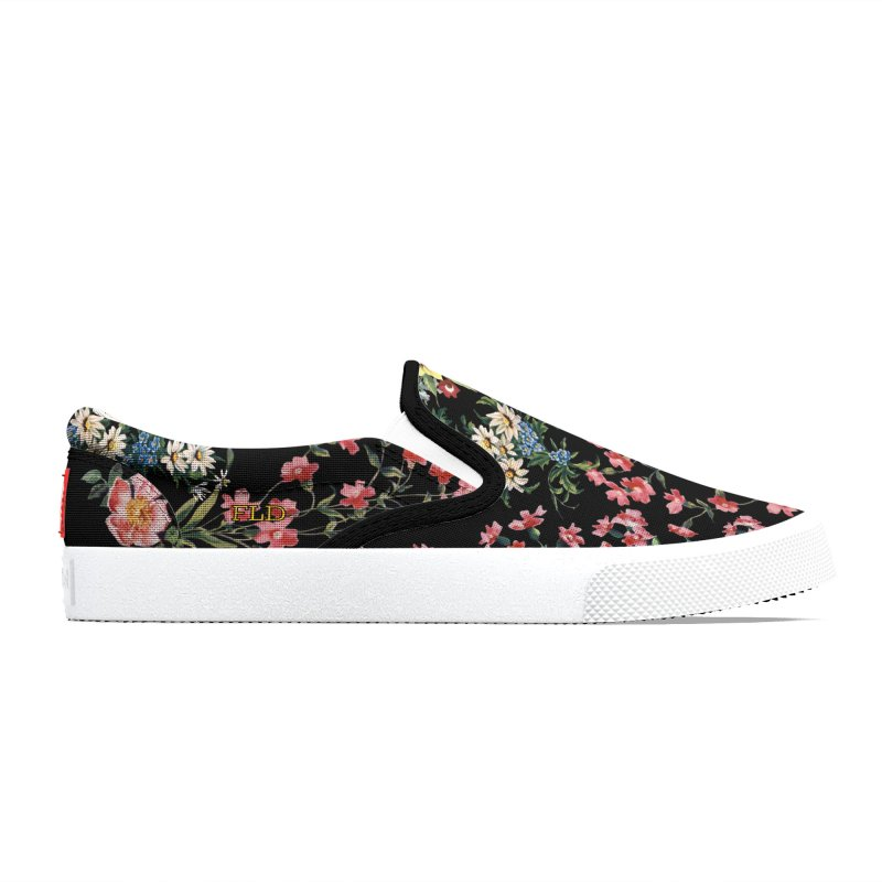 FLD Bouquet Black Shoes Women's Shoes by falconlara.design shop