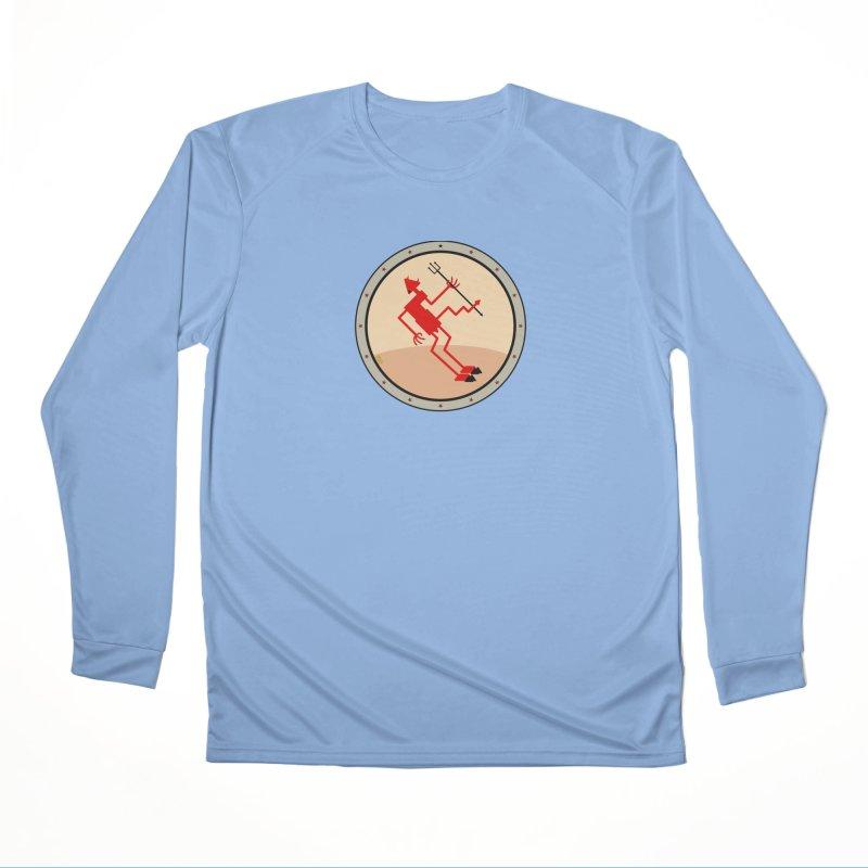 Squiggly Devil Men's Performance Longsleeve T-Shirt by falconlara.design shop